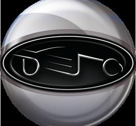 Circle Badge - Silver